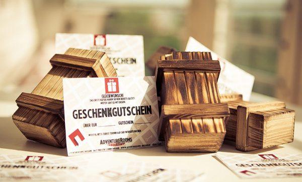 AdventureRooms Exit Game Gutschein Dresden