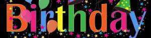 Happy Birthday Escape Game Schriftzug zum Kindergeburtstag